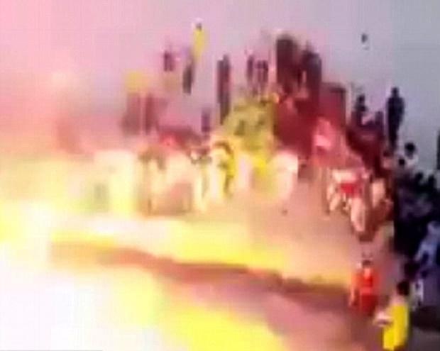 30 Terbunuh Pengebom Berani Mati Letup Diri Di Padang Bola