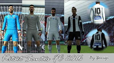 Kitset Santos FC 2016 By #Zaxisjr