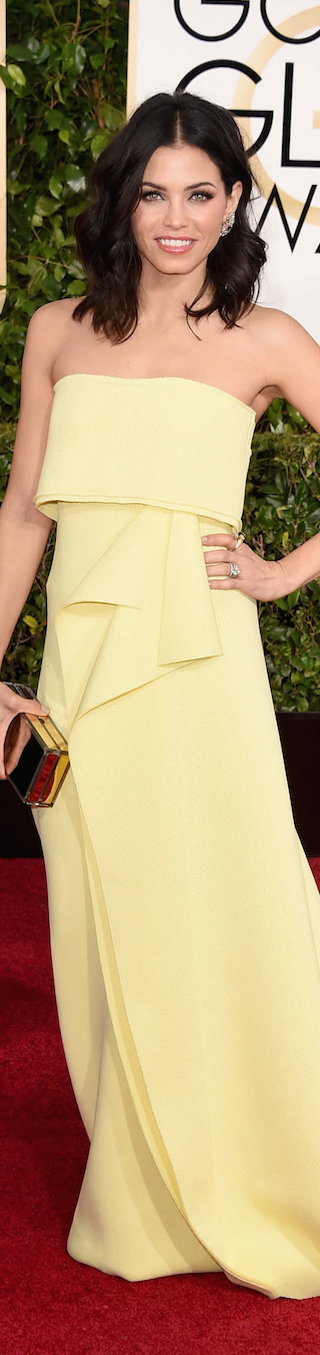 Jenna Dewan Tatum 2015 Golden Globe Awards