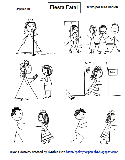 Teaching Spanish w/ Comprehensible Input: Sketches Help