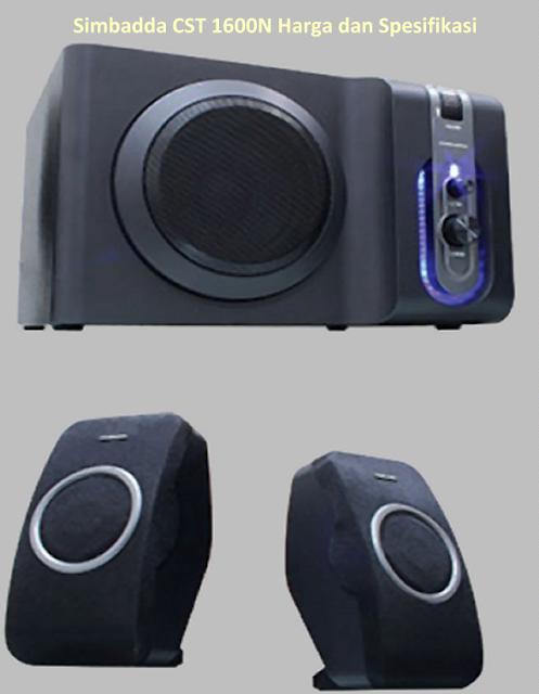 Harga Speaker Simbadda CST 1600N Aktif