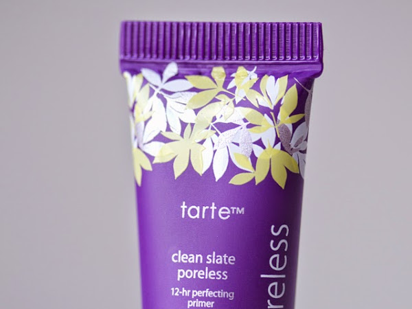 tarte Clean Slate Poreless 12-Hr Perfecting Primer (review)