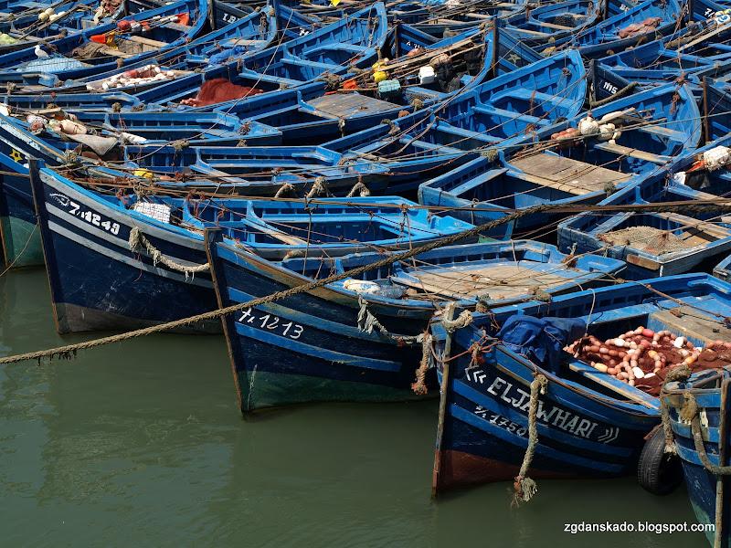 Essaouira - Port rybacki