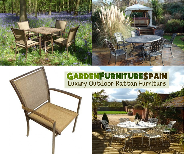 Garden furniture spain aluminum garden furniture the for Outdoor furniture spain