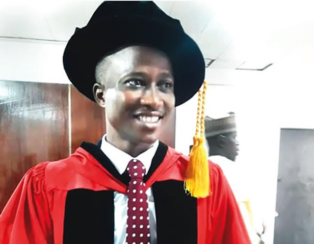 From Third Class at LASU to overall best PhD graduate at UNILAG