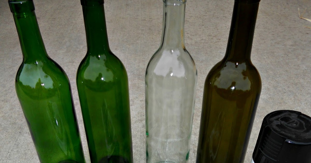 crazylou: Recycled Wine Bottle Craft