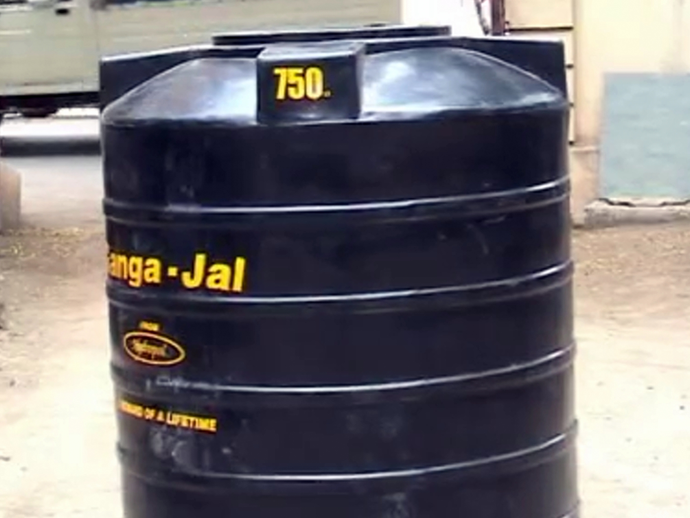 Biogas Plant India Digester Diagram In Hindi Anaerobic 750 Liter Water Drum As Gas Holder