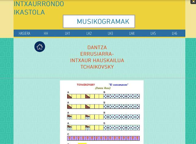 dantza errusiarra-Tchaikovsky