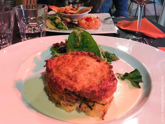 Cenar en Vannes Bretaña viaje diario