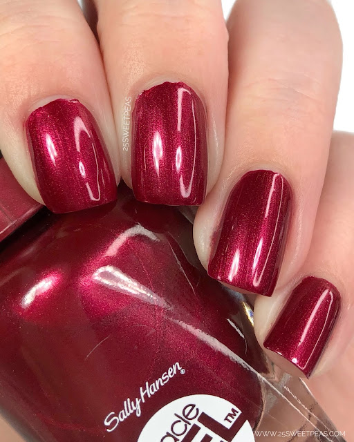 Sally Hansen Bordeaux Glow