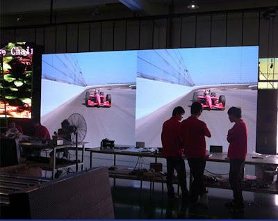 Đơn vị lắp đặt thi công màn hình led p3 tại quận 2