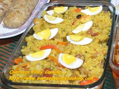 Pinoy Arroz Valenciana - Dish