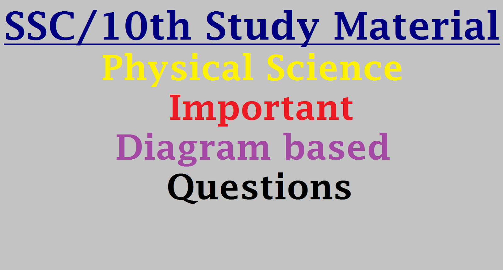 science diagrams of class 10 western 1000 salt spreader wiring diagram 10th physical important based