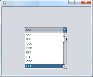 insert items to jcombobx from txt file using java