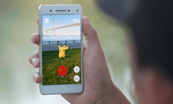 Cara Menggunakan Kamera Pada Pokemon Go