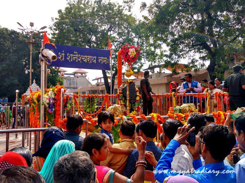 Shani Shinganapur Prayer Platform Temple, Maharashtra
