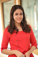 Actress Lavanya Tripathi Latest Pos in Red Dress at Radha Movie Success Meet .COM 0140.JPG