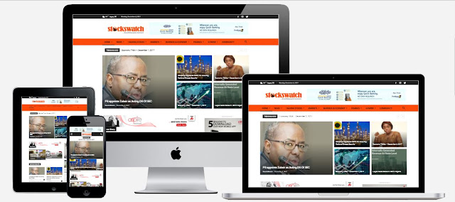 StocksWatch Newspaper Website, re-designed by Eagles Technology Solutions