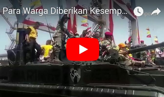 Melihat Demo Alutsista di Gladi Bersih Upacara HUT ke-72 TNI