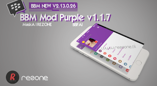 BBM Simple Purple V1.1.7 Base V2.13.0.26 Apk