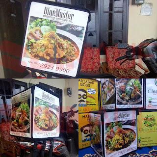 Tas delivery box makanan Surabaya Dine Master