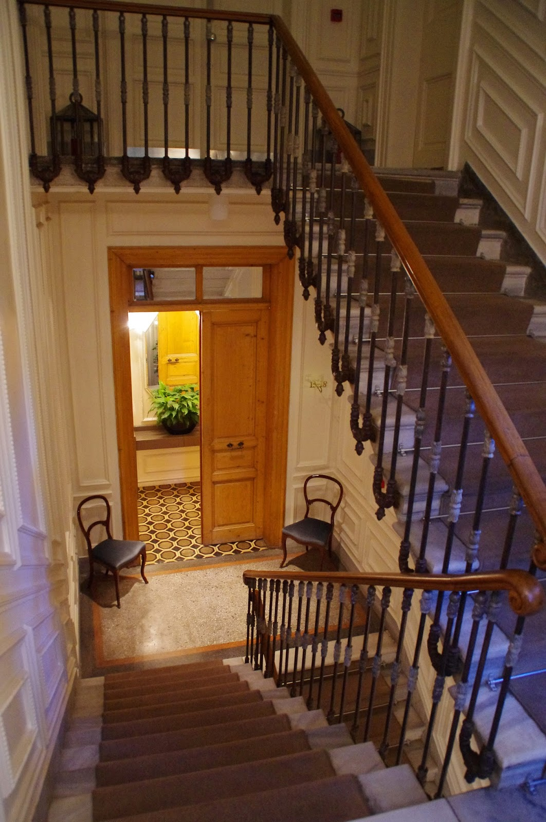 House Hotel Galatasaray Staircase