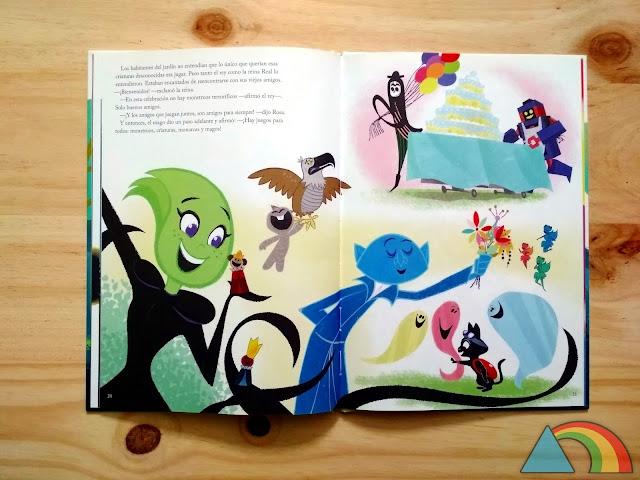 Interior del libro La fiesta perfecta de Ikea