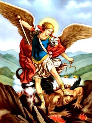 Dibujo de San Miguel de Arcángel