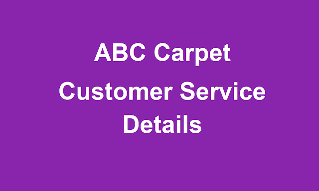 ABC Carpet Customer Service Phone Number