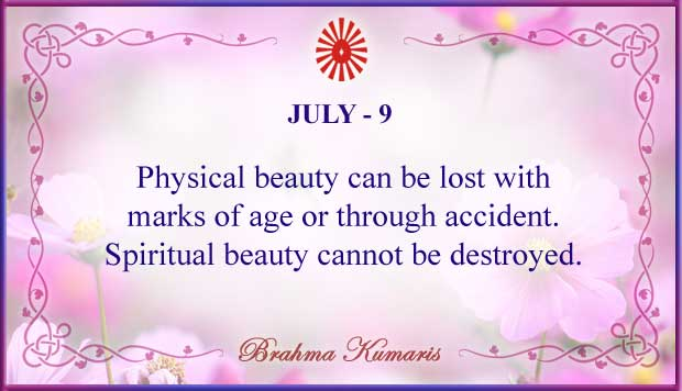 Thought For The Day July 9