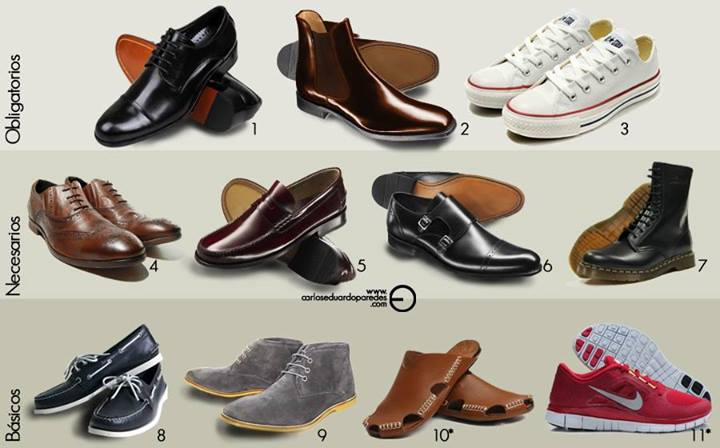 13eb6dd0 Si bien, los zapatos que compramos nos deben gustar, hoy les daré algunos  consejos sobre cómo guiarse y qué pares son básicos, necesarios y  obligatorios en ...