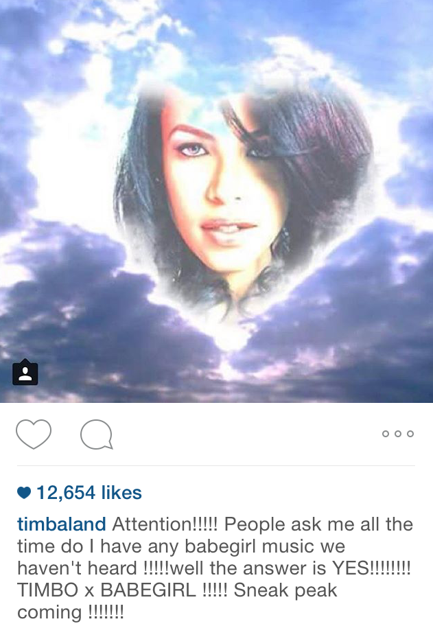 6135e31f929 Timbaland Promises New Aaliyah Music