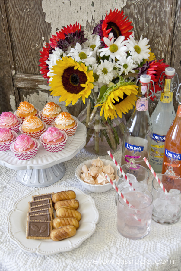 A Grown-Up Cupcakes and Lemonade Party - why should kids have all the fun???
