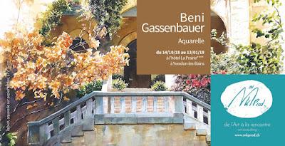 Vernissage et exposition Beni Gassenbauer