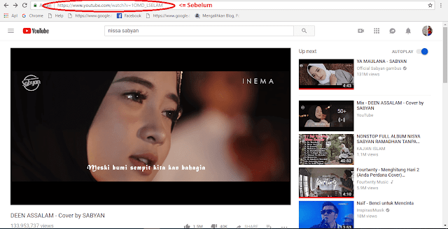 Tutorial mendownload video dari youtube ganti link langkah 1
