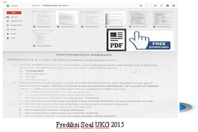 Unduh Kumpulan Soal – Soal Prediksi Uji Kompetensi Guru tahun 2015.Pdf