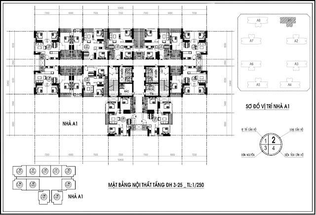 Mặt bằng tầng 3-25 An Bình City