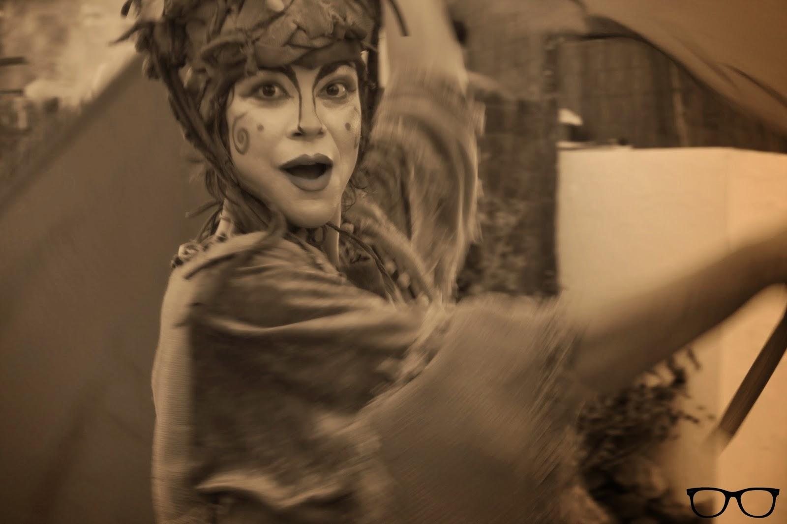 Retrato malabarista