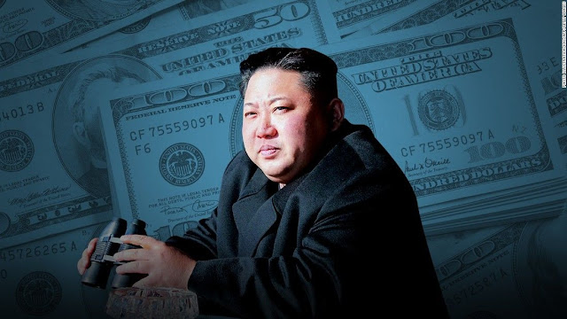 Pemimpin Korea Utara Kim Jong-un dilaporkan bakal segera kehabisan cadangan uang
