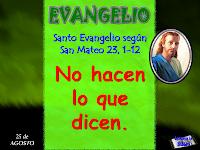 Resultado de imagen para En aquel tiempo, Jesús habló a la gente y a sus discípulos, diciendo