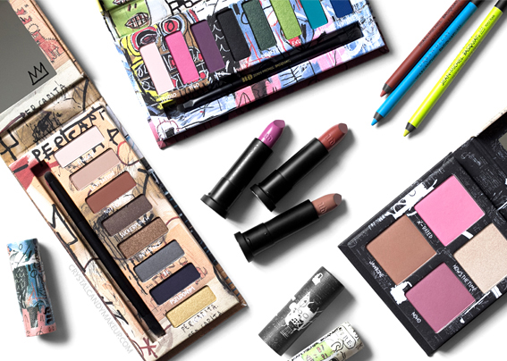 UD Jean-Michel Basquiat Collection Urban Decay Review Photos Swatches