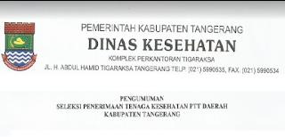 Lowongan Kerja Non PNS Terbaru Dinas Kesehatan Tangerang