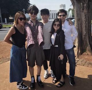 Yesung Super Junior Kunjungi Istana Presiden di Jakarta