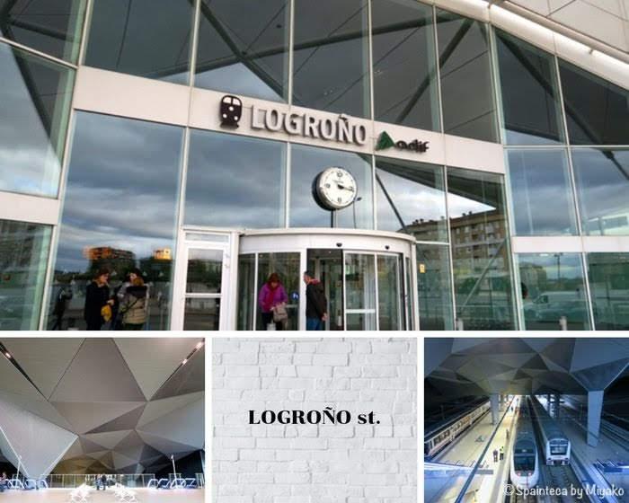 El Tren del Vino de La Rioja 北スペイン・リオハのワイン列車の出発駅ログローニョ