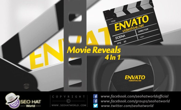 Download Movie Reveals After Effects Project Free