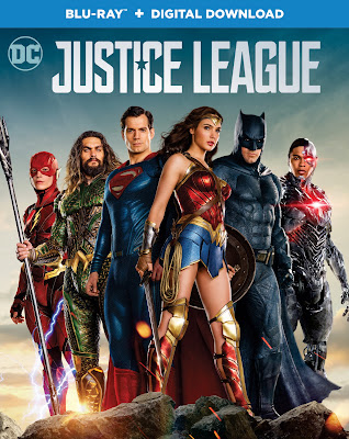 JUSTICE LEAGUE HOME ENTERTAINMENT