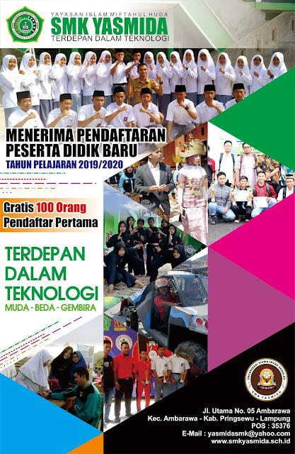Desain Brosur Keren SMK Yasmida Ambarawa