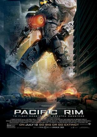 Pacific Rim 2013 BRRip 950MB Hindi Dual Audio 720p Watch Online Full Movie Download bolly4u