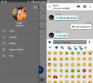 BBM Mod Like iOS v3.0.1.25 APK Terbaru