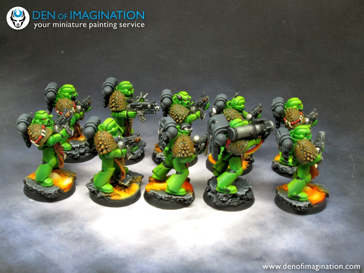 Blog Salamanders: Infantry
